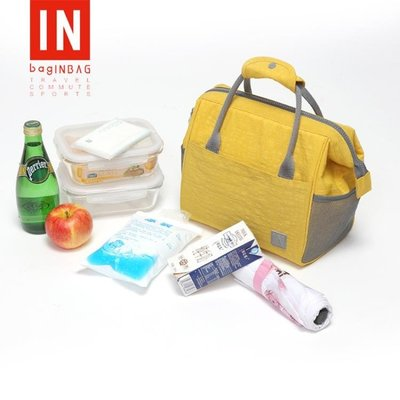 BAGINBAG手提飯盒袋保溫包 鋁箔加厚便當袋便當包防水帶飯飯盒包 誘貨ZY