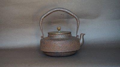 **** 愛忻坊 **** 日本~龍文堂名人林造鐵瓶/鐵壺