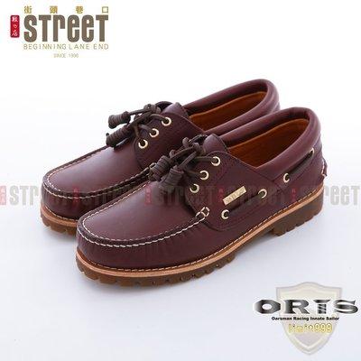~街頭巷口 Street~ORIS 男款2013年 版雷根式帆船鞋~深咖啡色 999A03