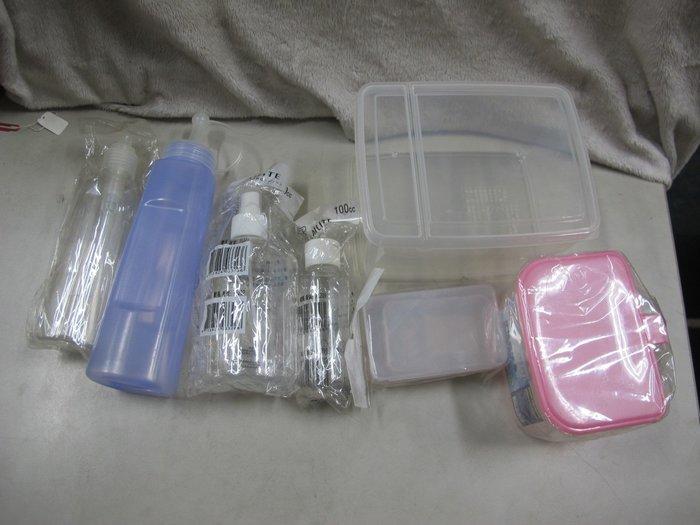 二手舖~NO.571 生活收納 醬料罐 噴壓瓶 收納盒 牙籤盒 分隔調味合