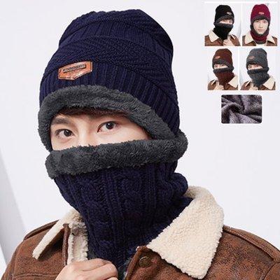 《 J.ST 》Chic x Trend 時尚休閒潮流超值搭配保暖撞色內絨毛脖圍+男女針織毛帽毛線帽 【GO-MZ09】