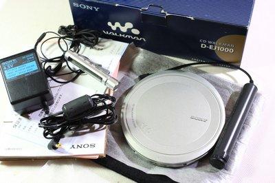 SONY 絕版 EJ1000 Walkman 旗艦CD 隨身聽 ~ 盒裝永久收藏版 ~NW-ZX507 NW-A100