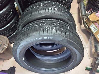 215 55 R 17 倍耐力 POWERGY 18年製造 9成新 落地 二手 中古 輪 胎 一輪1600元