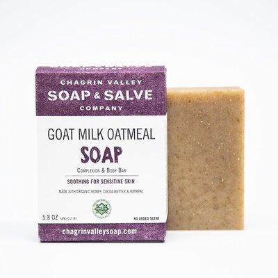 美國Chagrin Valley有機蜂蜜山羊奶燕麥片手工皂 Goat Milk Honey Oatmeal 5.8 OZ