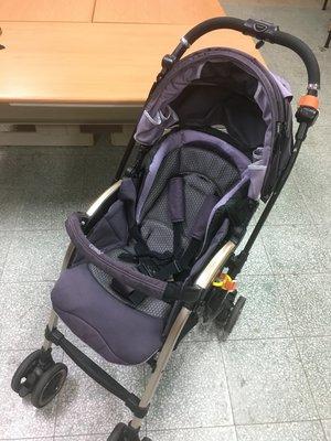 COMBI御捷輪III紫羅蘭紫雙向嬰兒車 推車嬰兒防震手推車 Miracle Turn Elegant MT-700D