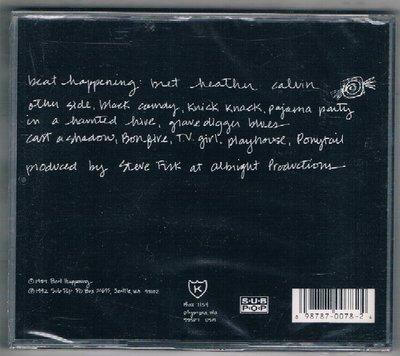 [鑫隆音樂]西洋CD-節奏事件BEAT HAPPENING:BLACK CANDY {SP786}/全新/免競標