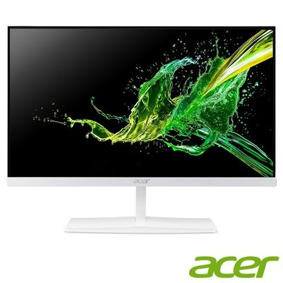 (含稅一律附發票,29年公司實體店面)Acer宏碁24型ED245Q A薄邊框IPS面板白色美形不閃屏瀘藍光無喇吧