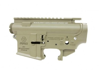 【WKT】RA-TECH FOR WE M4 GBB AAC 鍛造槍身 沙色-RAG-WE-153-1