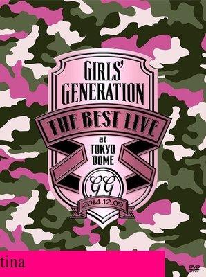 少女時代Girls' Generation The Best Live At Tokyo Dome 日版東京演唱會DVD