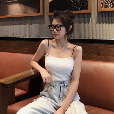 女裝 上衣 內搭泫雅風夏季韓版新款吊帶背心性感抹胸打底內搭外穿打底上衣女