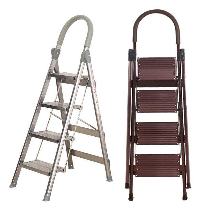 鋁合金加厚摺疊梯子家用人字梯伸縮樓梯室內工程樓梯爬梯扶梯