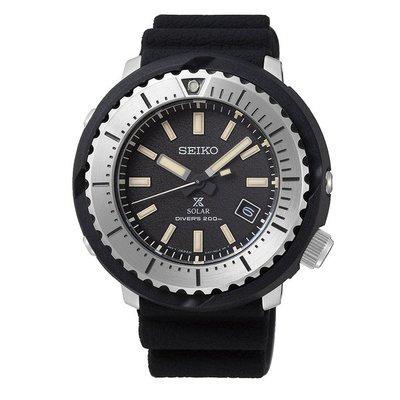 可議價.「1958 鐘錶城」SEIKO精工錶 PROSPEX 時尚太陽能潛水腕錶(SNE541P1)/46.7mm