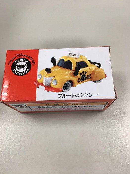 日本東京迪士尼樂園限定 Disney TOMY TOMICA 多美 合金小汽車 高飛狗造型款式