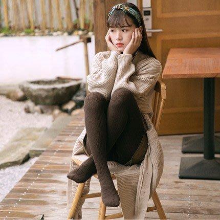 【Cian】180丹褲襪/直條造型/日系/學園風/美娜斯褲襪/蘿莉/春夏必備/咖啡色/造型褲襪/顯瘦/全足/台灣製