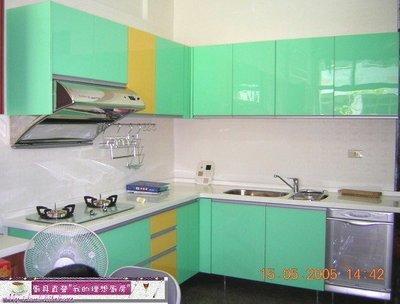買廚具第一選擇【MIK廚具 直營】浪漫青衣L型歐化廚具人造石水晶三機大落地烘碗機