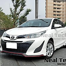 全新含烤漆 Toyota Yaris 後期 小改款新大鴨 MRF空力套件 前下巴 側裙 後下巴 改裝 18 19 20年