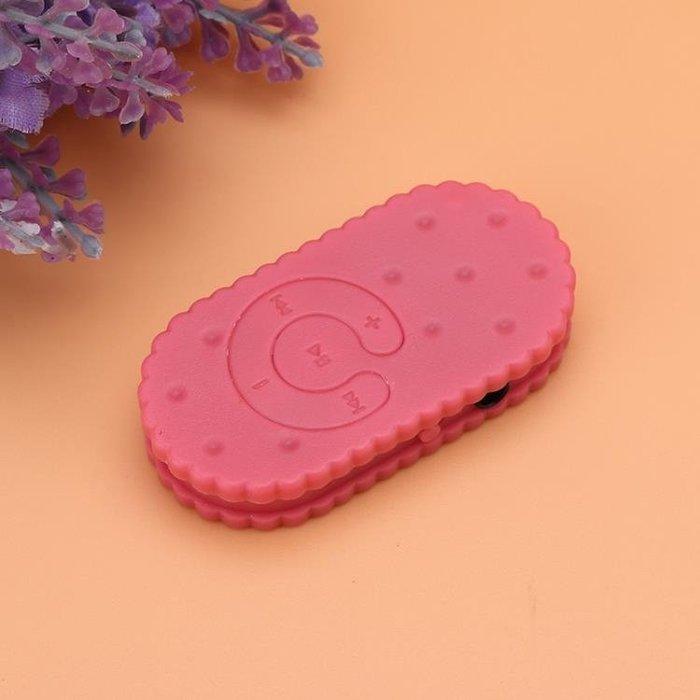 (免運)可愛禮物兒童MP3卡通英語隨身聽女生運動餅干MP3播放器迷你學生【莉芙小鋪】