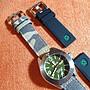 DEEP BLUE 捍衛者DEFENDER軍綠面盤機械潛水錶(家偉哥專用賣場)