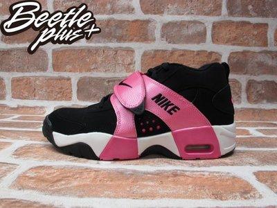 BEETLE NIKE AIR VEER GS 黑 桃粉 粉紅 魔鬼氈 權志龍 女鞋 599213-003 25 CM