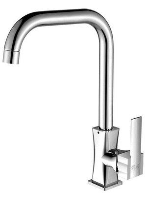 廚房水龍頭洗菜盆龍頭冷熱水槽單冷全銅洗手盆304不銹鋼旋轉