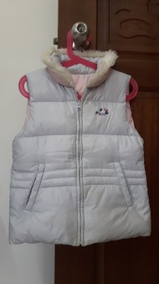 麗嬰房 familiar 超保暖可2面穿羽絨背心外套