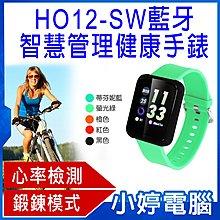 【小婷電腦*智慧手環】全新 HO12-SW 藍牙智慧管理健康手錶 鍛鍊模式 步伐 里程數 健康檢測 推播提醒