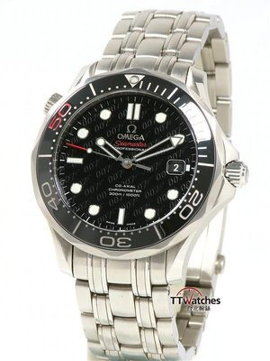 台北腕錶 Omega 歐米茄 Seamaster 海馬 300米 007 50周年紀念 186687