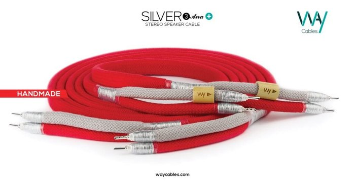 WAY CABLES 喇叭線 SILVER3 ANA+
