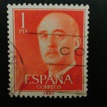 歐洲人像壹分實寄票(1960年代)       K001