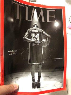 TIME 時代週刊 KOBE  2020/02/10 第4期  封面人物 KOBE 現貨 無海報版