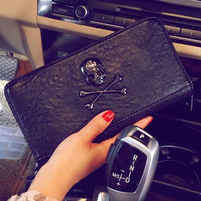 長款男女士錢包卡包潮流 韓版手拿包時尚錢夾手機包 新款錢包潮包 11NLD141