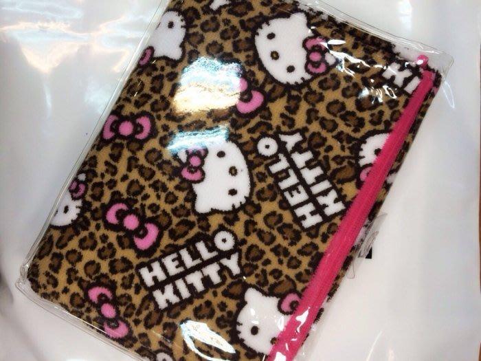 GIFT41 4165本通 三重店 Hello Kitty 凱蒂貓 多功能 披肩 豹紋 4990270060223