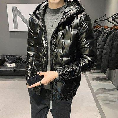 冬季保暖抗寒羽絨服男士羽絨服2020冬季新款男青年保暖休閑時尚冬季加厚純色羽絨服
