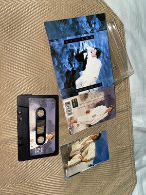 【李歐的音樂】寶麗金唱片1994年 譚詠麟 青春夢 別無所求 錄音帶 卡帶