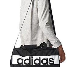 ADIDAS S 黑白 黑色 訓練 健身 側背包 圓筒包 旅行袋 S99954 愛迪達 請先詢問庫存