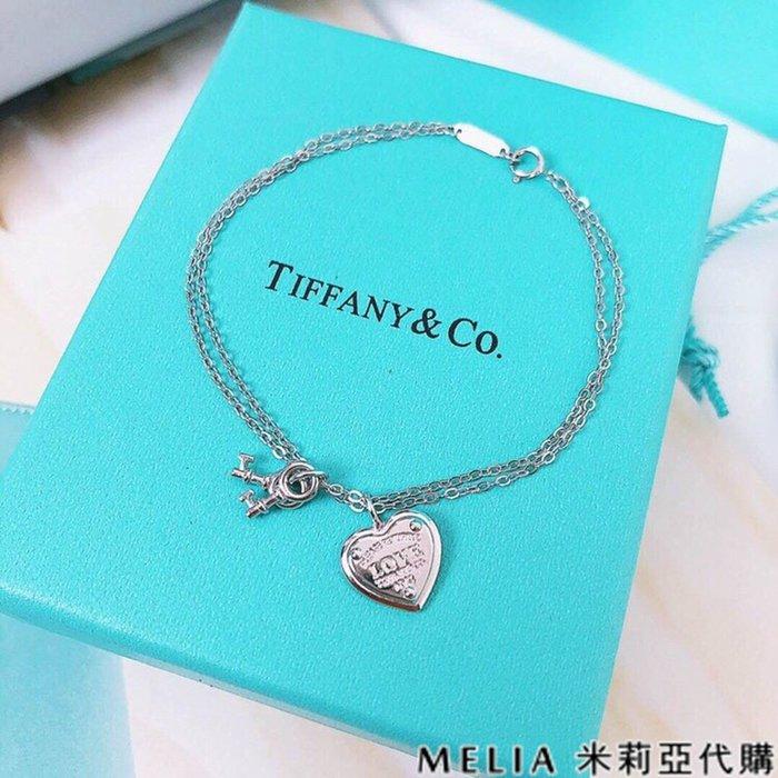 Melia 米莉亞代購 商城特價 數量有限 每日更新 19ss Tiffany&Co. 飾品 手鍊 LOVE 愛心手鍊