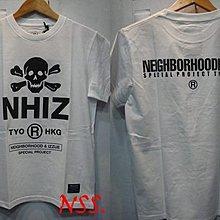 特價「NSS』NEIGHBORHOOD NBHD X IZZUE NHIZ PRINT TEE 黑 白 綠 骷髏 M L