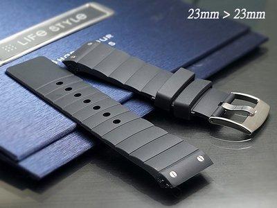 【時間探索】 全新卡地亞 Cartier Santos 100  山度士 代用矽膠錶帶 23mm