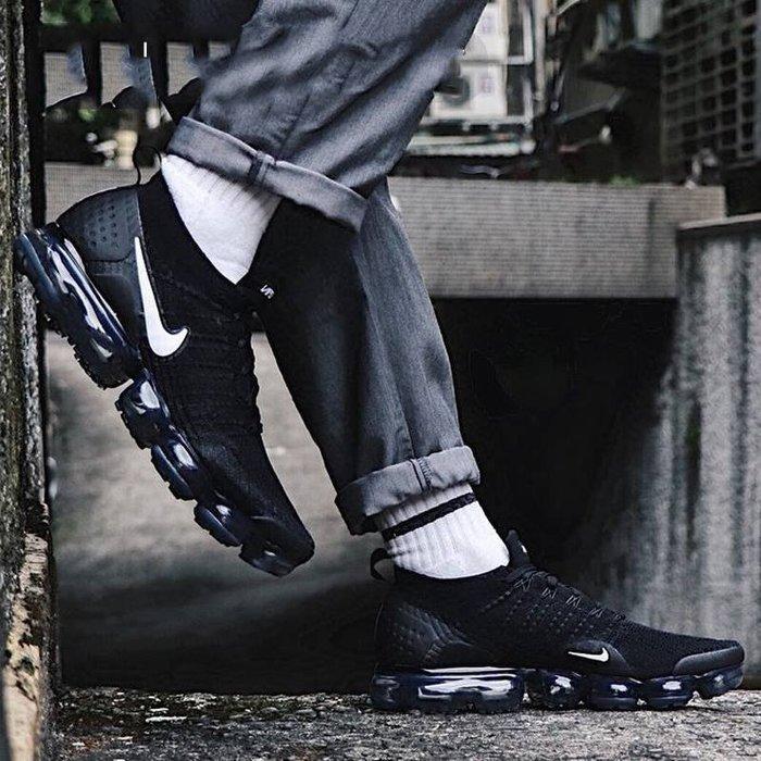 Nike Air VaporMax Flyknit 黑色 百搭 編織 休閒運動鞋 942842-001 男款