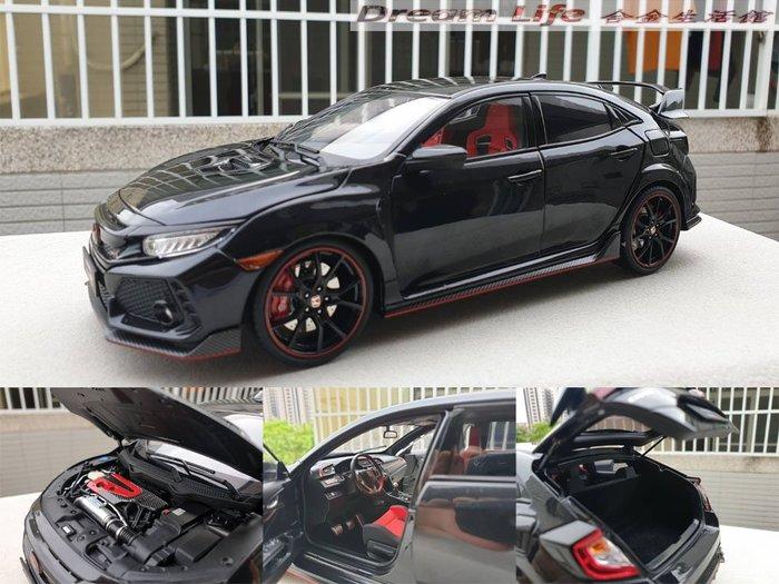 【LCD Models精品】1/18 Honda Civic Type R (FK8)~全新黑色~現貨特惠價~!!