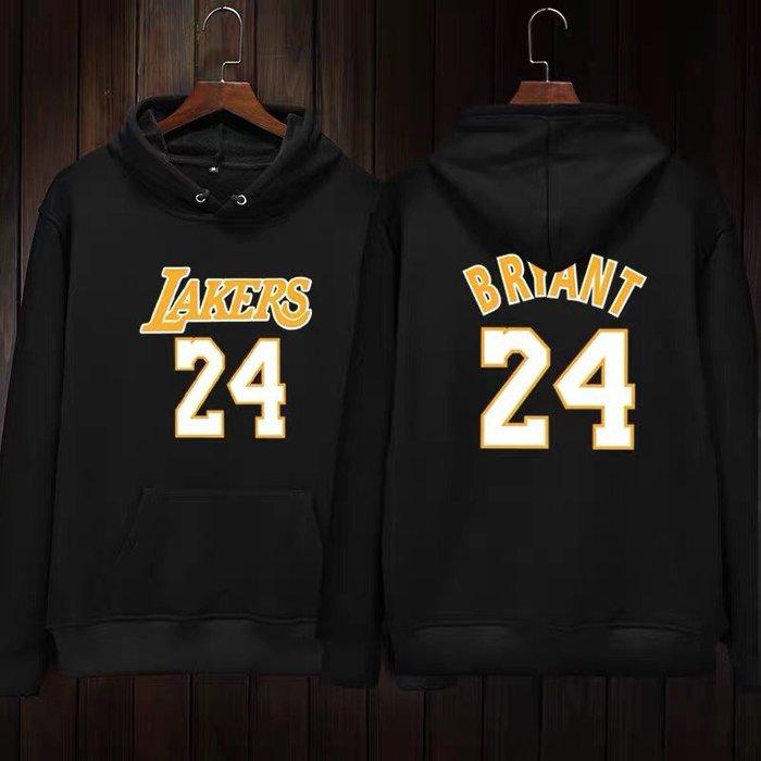 💖黑曼巴Kobe Bryant科比長袖連帽T恤上衛衣💖NBA湖人隊Adidas愛迪達運動籃球衣服大學純棉T男女989