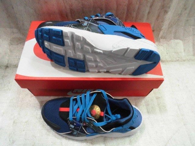 【n0900台灣健立最便宜】2015 NIKE HUARACHE RUN PRINT (GS)武士鞋-704943-00