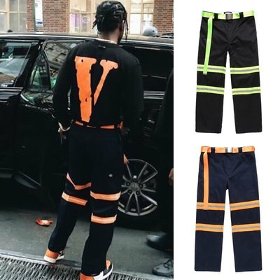 Cover Taiwan 官方直營 FNTY A$AP Rocky 消防隊 工作褲 黑色 藍色 螢光綠 橘色 (預購)