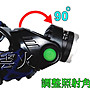 全台灣最低價-套組-美國L2伸縮變焦超強光頭燈L2頭燈登山露營巡山釣魚修車戶外照明18650雙鋰電池-雲火光電