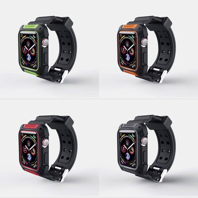 AppleWatch 運動錶殻連錶帶 1秒變G-Shock for 44/40MM series 4