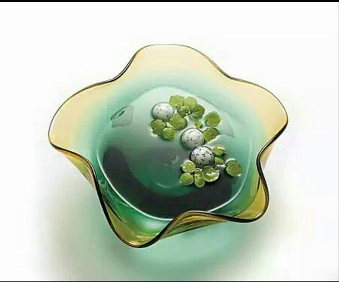 ~蘇菲亞精品傢飾~日本原裝進口手作傳統琉璃藝術工藝品