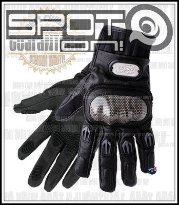 Spot ON - PROBIKER MCS01L 碳纖維羊皮騎士手套!直享優惠價-GO!LED手電筒 單搖臂 85度C
