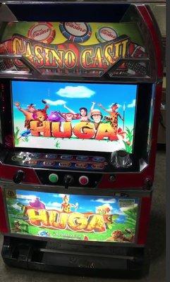 比水果盤更刺激HUGA 15輪盾牌全盤 自己設定不怕輸買回家當存錢筒 比倍開分洗分投幣10元 大人小孩在家玩益智性超高
