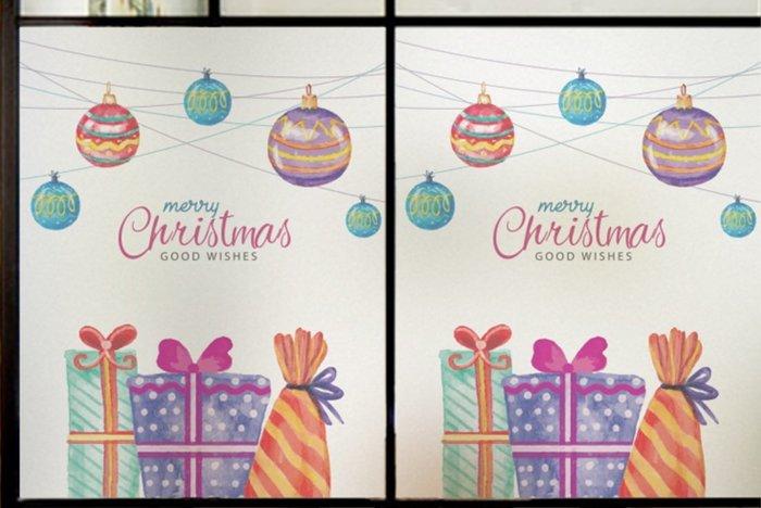 小妮子的家@可訂製有膠.無膠.全透明.磨砂.不透明.單孔透彩色磨砂玻璃貼膜/家具.牆貼~新年聖誕禮物/i