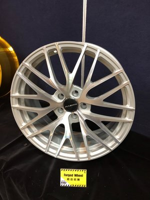 DJD19042918 Nashin 世盟 雙片式 鍛造 鋁圈 B102 20吋 5/108 5/120 ET30~50